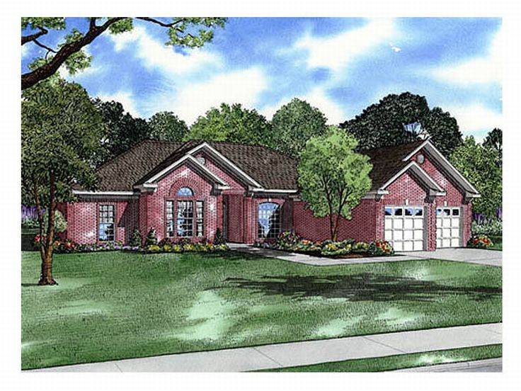 Ranch House Plan, 025H-0036