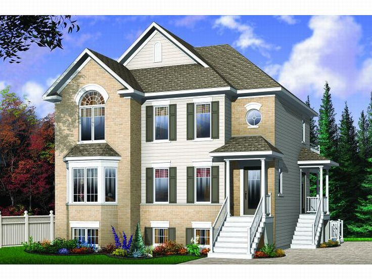 Triplex Home Design, 027M-0019