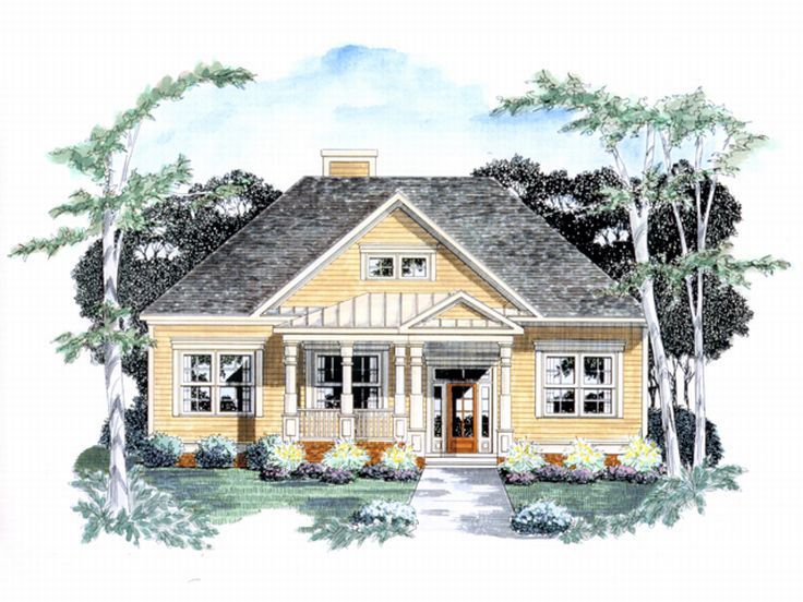 Affordable House Plan, 019H-0095