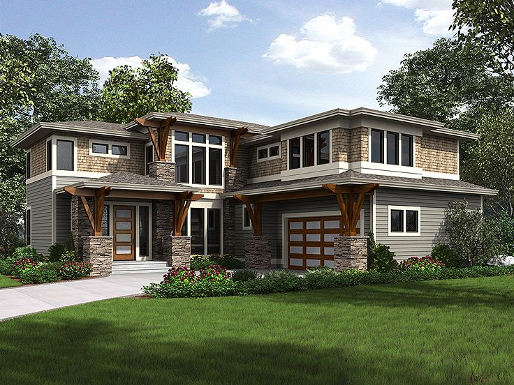 Contemporary Home, 035H-0138