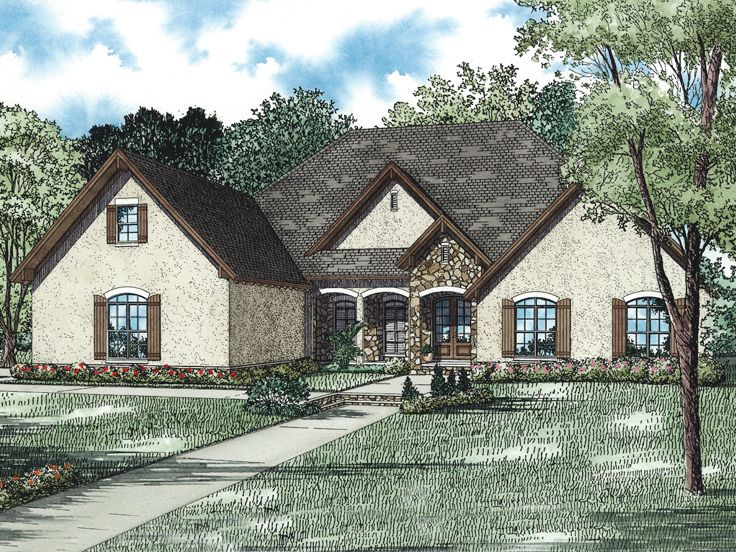 Sunbelt House Plan, 025H-0295