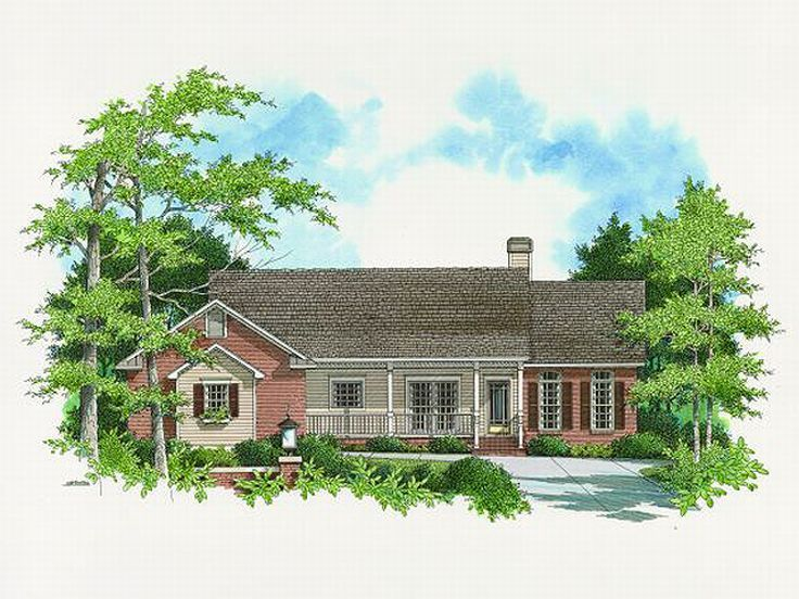 Ranch House Design, 030H-0061