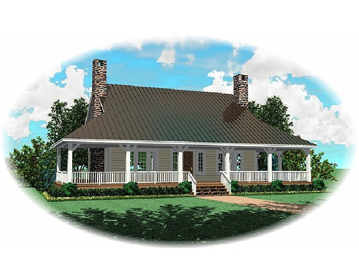 Country Home Plan, 006H-0054