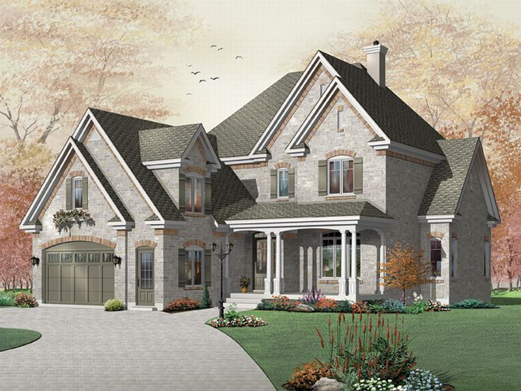 Two-Story Home Design, 027H-0093