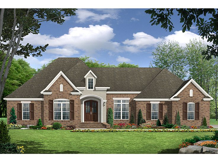 Traditional Home Plan, 001H-0186