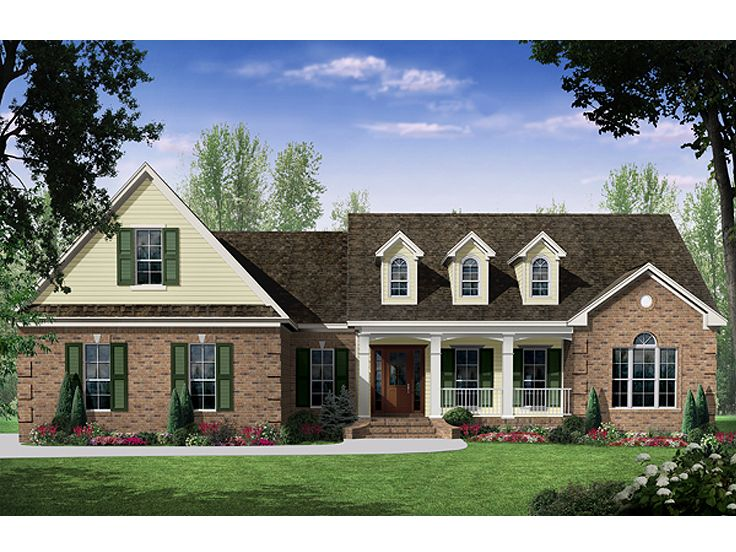 Country House Plan, 001H-0188