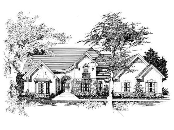 Sunbelt Home Plan, 061H-0149