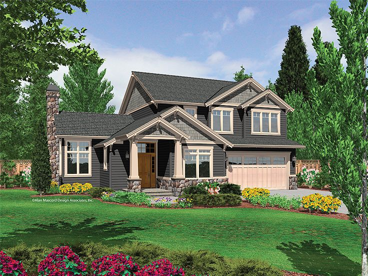 Craftsman Home Design, 034H-0175