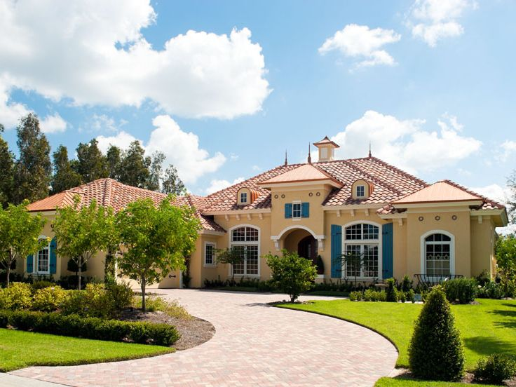 Mediterranean home plans luxury mediterranean house plan for Luxury mediterranean home plans