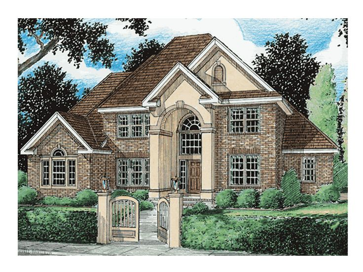 Traditional Home Design, 059H-0027
