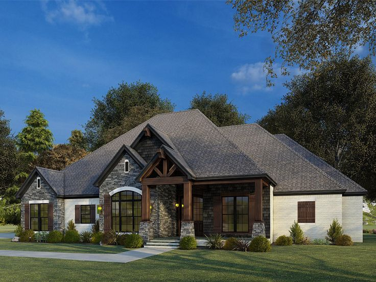 Ranch House Plan, 074H-0137