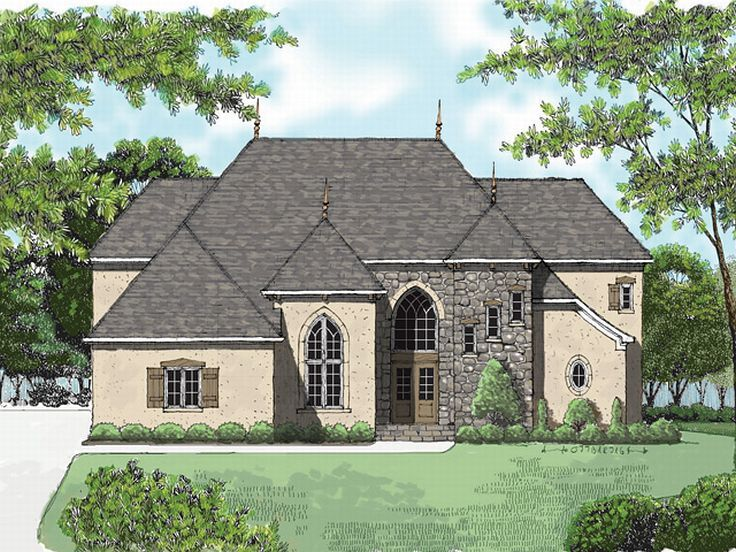 Luxury House Plan, 029H-0092