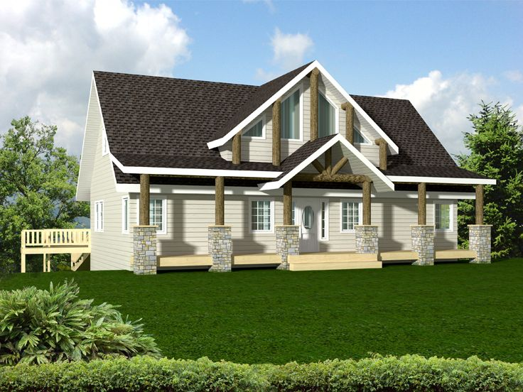 Northwest House Plan, 012H-0127