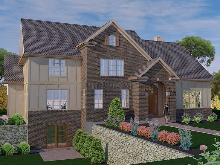 wo-Story House Plan, 055H-0006