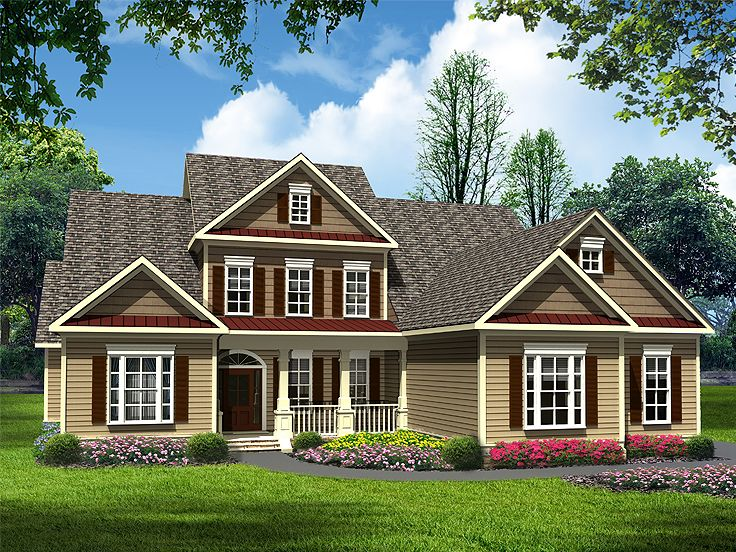 Family House Plan, 019H-0153