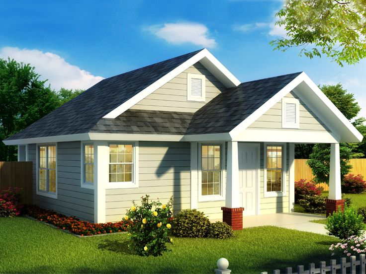 Tiny House Plan, 059H-0217