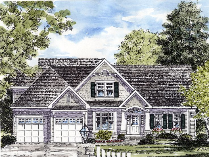Two-Story Home Plan, 014H-0084