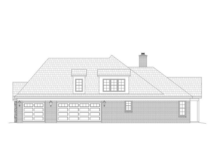Multi generational house plans 2 story country home plan Multi generational home plans
