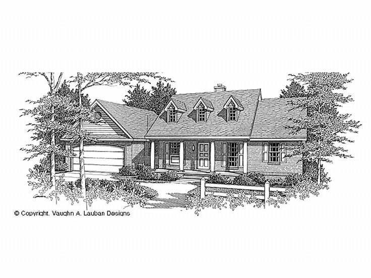 Country House Plan, 004H-0016