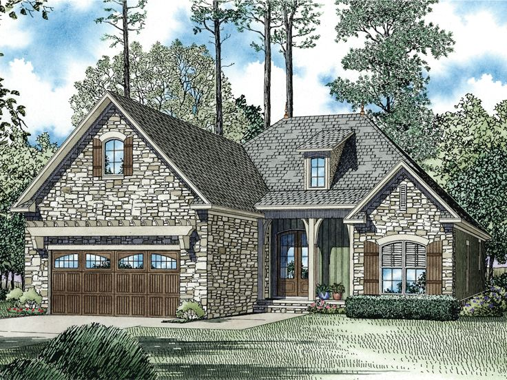 European Home Plan, 025H-0304