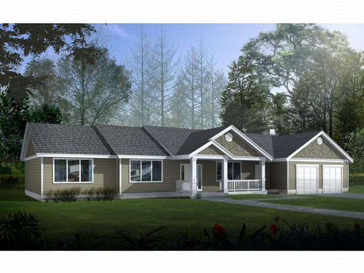 1-Story House Design, 026H-0068