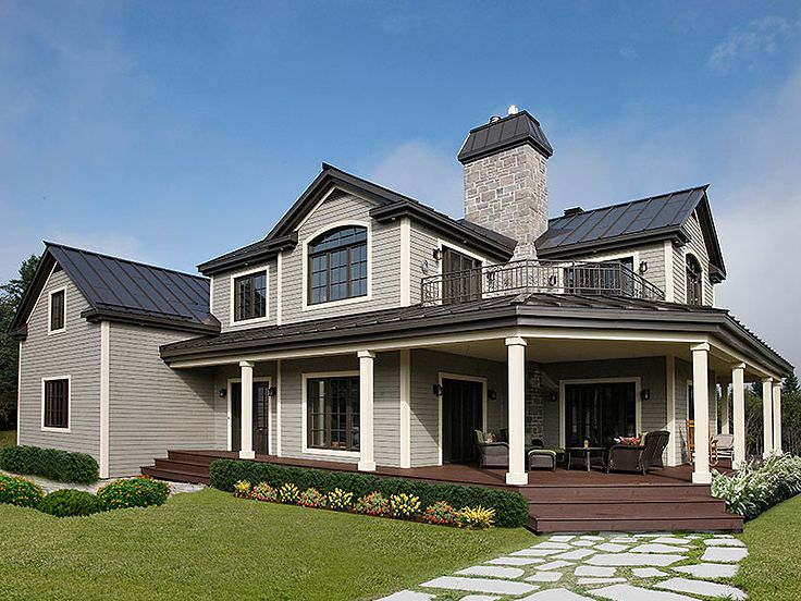 Country House Plan Photo, 027H-0150