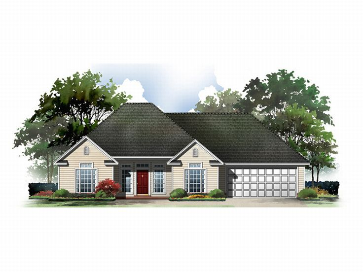 Affordable House Plan, 001H-0014