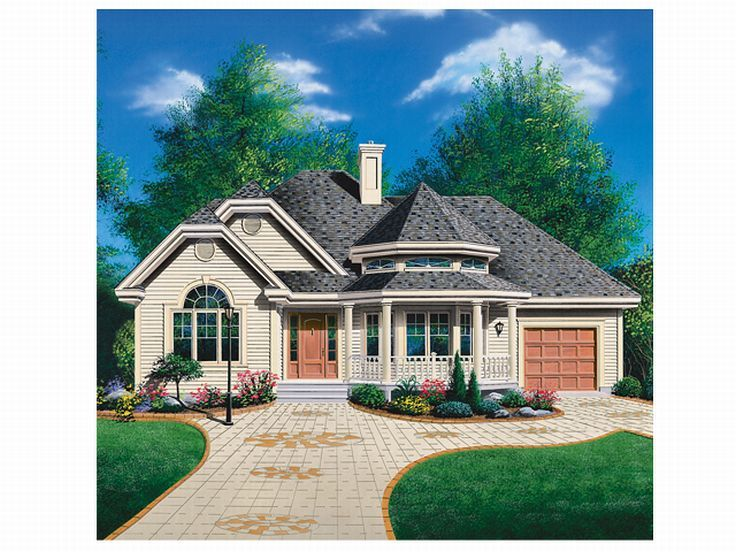 Vacation House Plan, 027H-0009