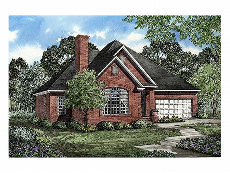 1-Story Home Plan, 025H-0059