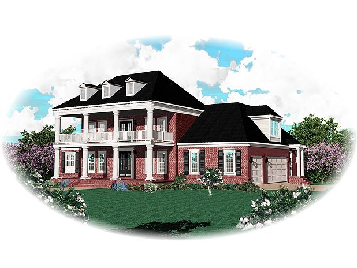 Southern Home Design, 006H-0123