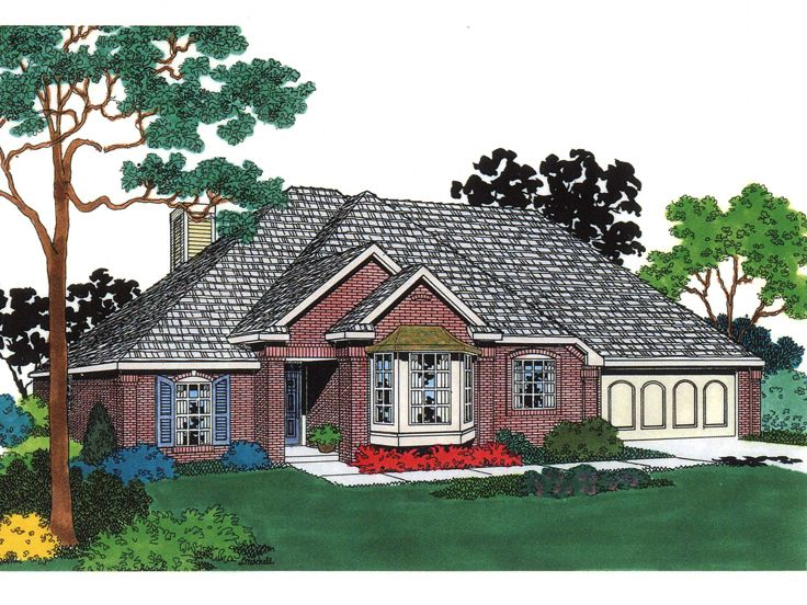 Small House Plan, 002H-0007