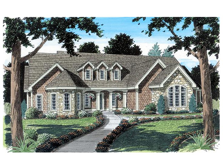 1-Story Home Plan, 047H-0041