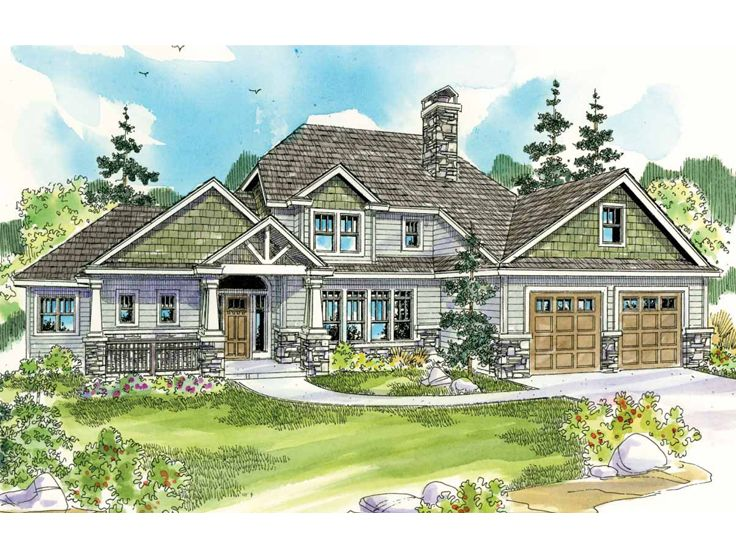 Two-Story House Plan, 051H-0170