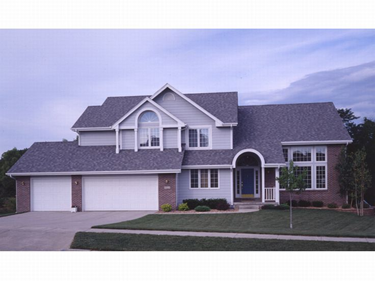 Traditional Home Plan, 022H-0051