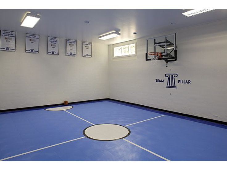 Plan 007h 0131 find unique house plans home plans and for How many square feet is a basketball court