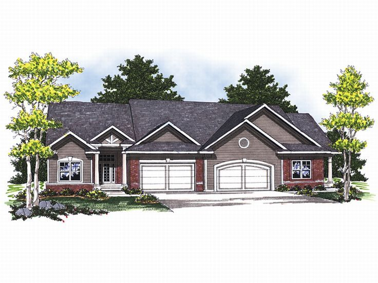Multi-Family House Plan, 020M-0045