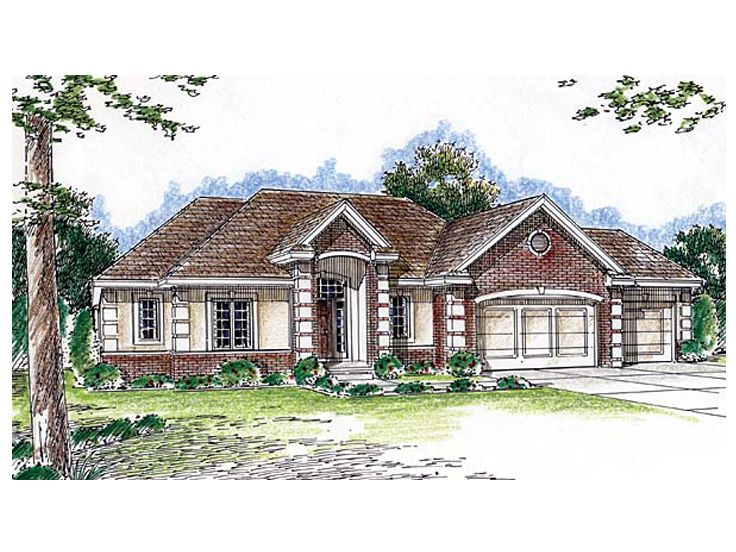 One-Story House Plan, 050H-0063