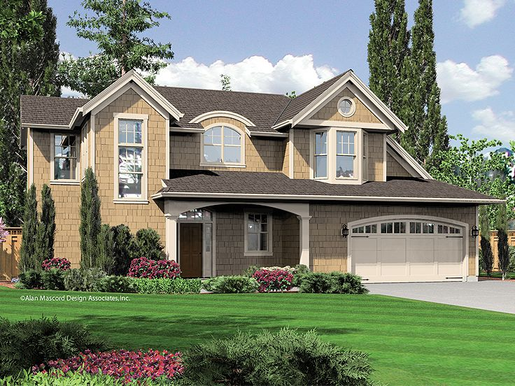 Two-Story House Plan, 034H-0187