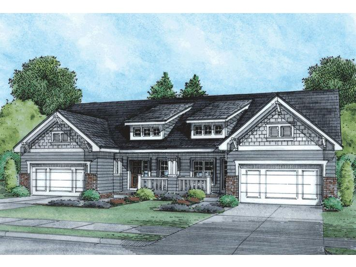 Plan 031m 0043 find unique house plans home plans and for Single story duplex