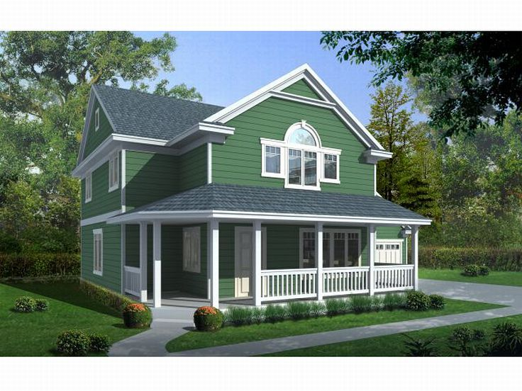 Country House Plan, 026H-0047