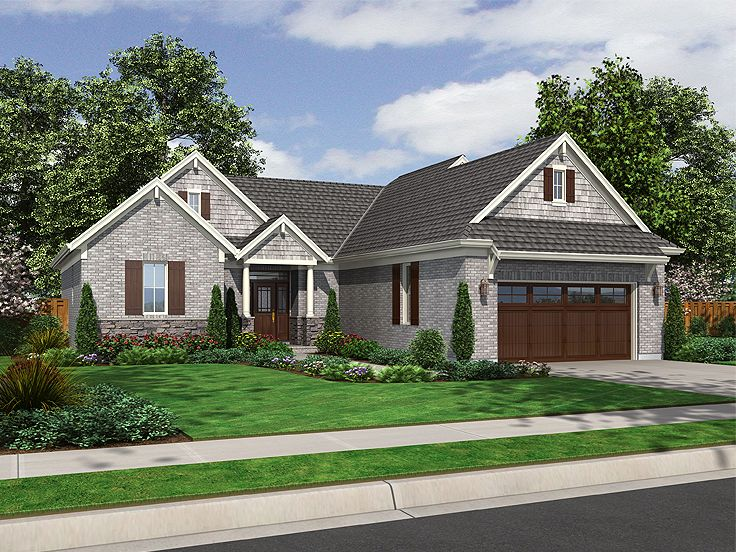 Traditional House Plan, 046H-0004