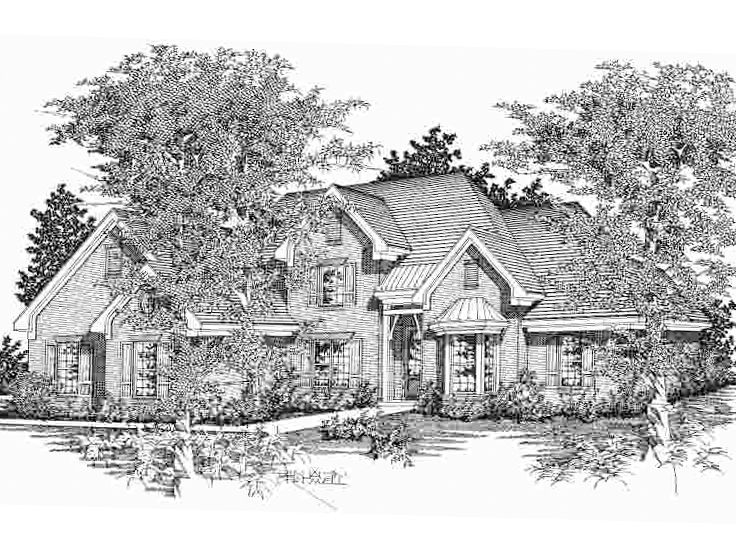 2-Story House Plan, 061H-0099