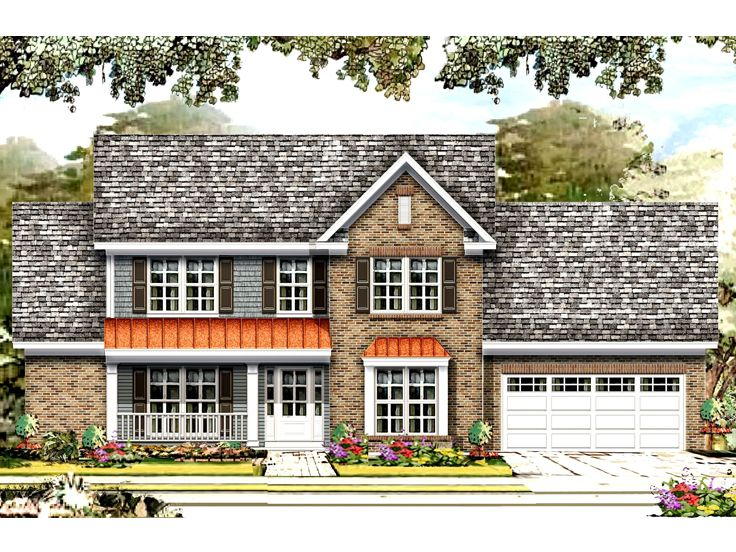 Fmaily House Plan, 061H-0176