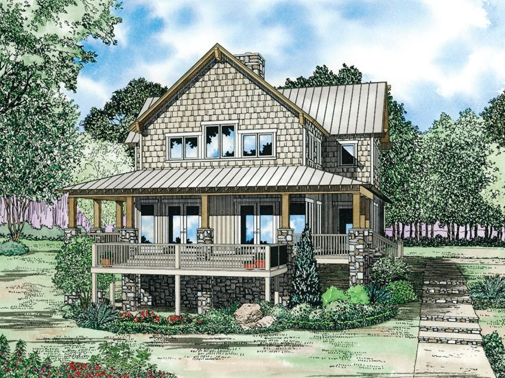 Two-Story Home Plan, 025H-0177