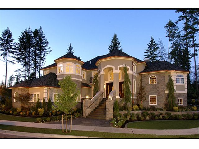 Luxury European Home, 035H-0034