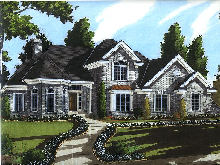 Two-Story Home Design, 046H-0090