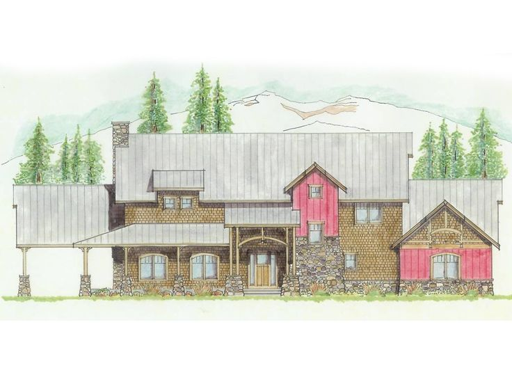 Two-Story Home Plan, 038H-0003
