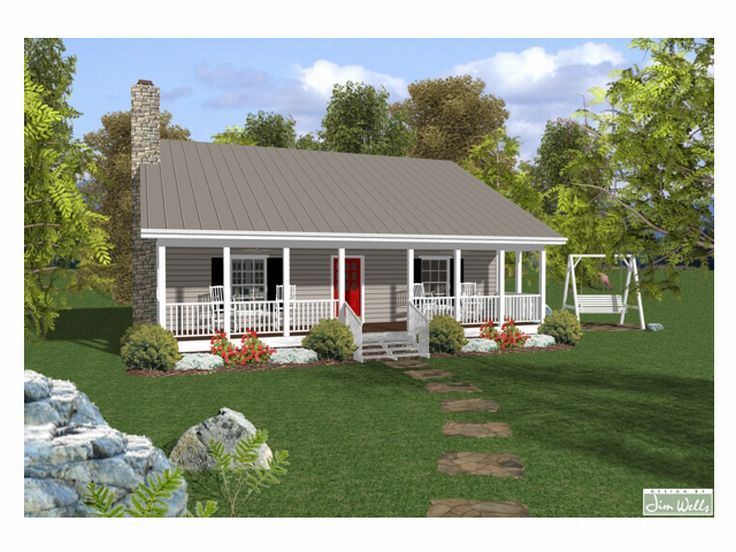 Plan 007h 0003 find unique house plans home plans and for Summer cottage house plans