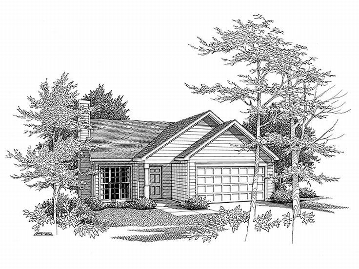Small House Plan, 019H-0014