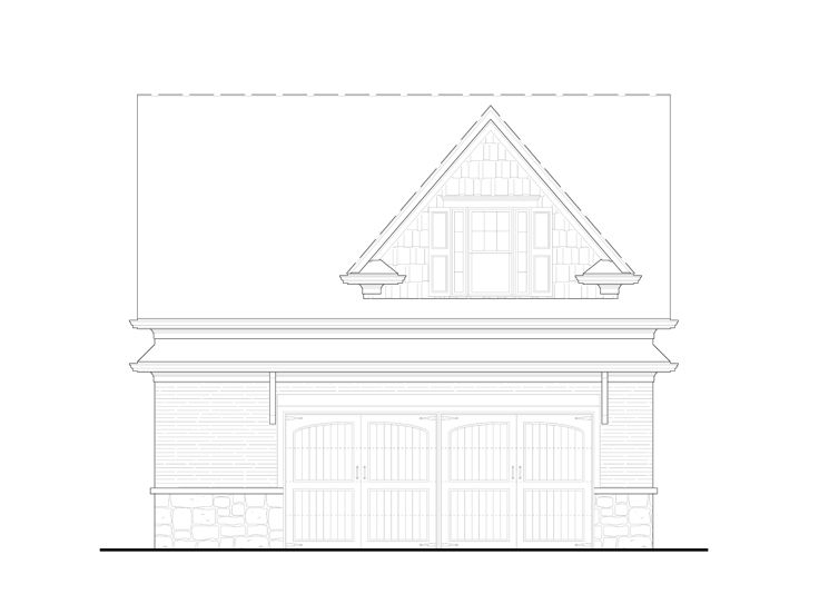 Garage Apartment Plan, 084G-0016